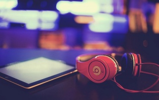 Beats by Dr. Dre Headphones and Ipad wallpapers and stock photos