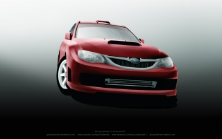 Subaru WRX Sti wallpapers and stock photos