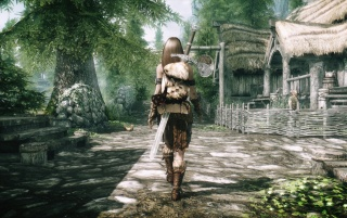 Elder Scrolls V: Skyrim Artă wallpapers and stock photos