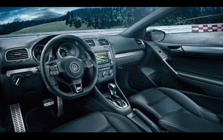 2013 Volkswagen Golf R Cabriolet Dashboard wallpapers and stock photos