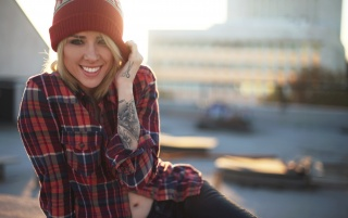 Alysha Nett Smiling wallpapers and stock photos