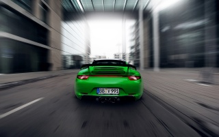 2013 TechArt Porsche 911 Carrera 4S Motion Rear wallpapers and stock photos