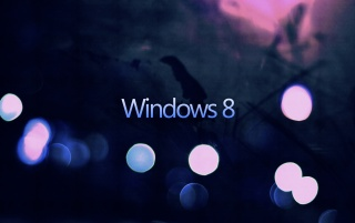 Random: Windows 8 Bokeh