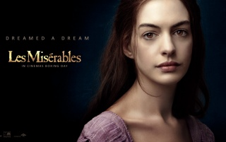 Anne Hathaway in Les Miserables wallpapers and stock photos
