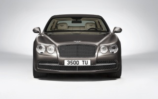 2013 Bentley Flying Spur Studio Front wallpapers and stock photos