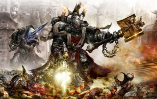 Warhammer 40,000 Artwork wallpapers and stock photos