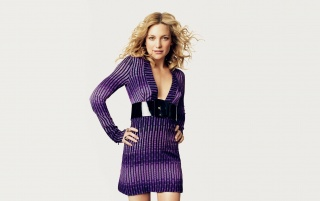 Kate Hudson Purple Dress wallpapers and stock photos