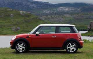 Mini Cooper Side wallpapers and stock photos