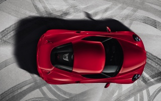 2013 Alfa Romeo 4C Static Top wallpapers and stock photos
