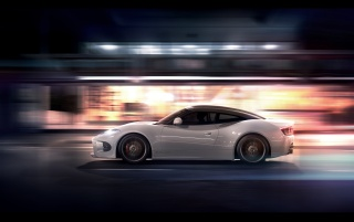2013 Spyker-B6 Venator Concept Motion Side wallpapers and stock photos