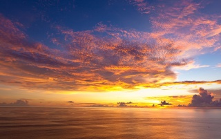 Colourful Sunset wallpapers and stock photos