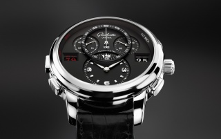 Glashutte Black Dial Watch wallpapers and stock photos