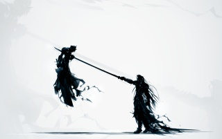Final Fantasy VII Artwork wallpapers and stock photos