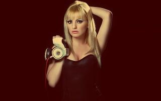 Alexandra Stan Beats by Dr. Dre wallpapers and stock photos