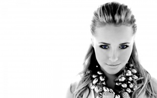 Hayden Panettiere Monochrome Close-up wallpapers and stock photos