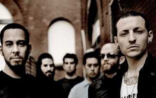 Linkin Park Sepia Effect wallpapers and stock photos