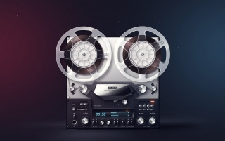 Vintage Cassette Retro Player wallpapers and stock photos