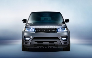 2014 Range Rover Sport Front Studio wallpapers and stock photos
