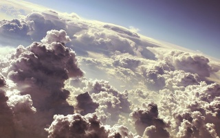 White Clouds wallpapers and stock photos