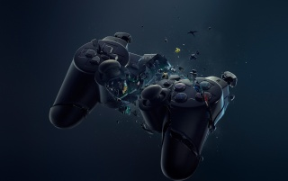 Crash Sony DualShock 3 wallpapers and stock photos
