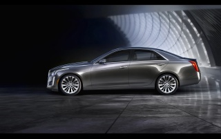 2014 Cadillac CTS Static Side wallpapers and stock photos