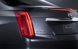 2014 Cadillac CTS Rear Section wallpapers and stock photos