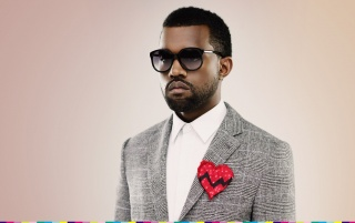 Kanye West Corazón Roto wallpapers and stock photos