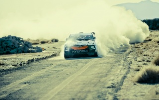 Hyundai Veloster Rally Car wallpapers and stock photos