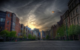 HDR Cityscape wallpapers and stock photos