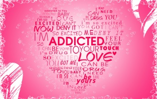 Addicted by PSDgrafik wallpapers and stock photos