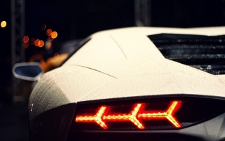 Lamborghini Aventador Taillight wallpapers and stock photos