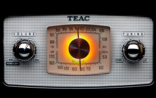 Analog TEAC Radio wallpapers and stock photos