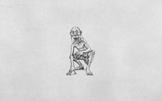 Gollum Sketch wallpapers and stock photos