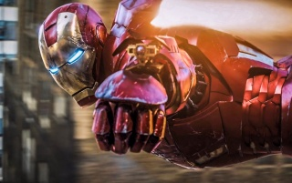 Iron Man Flying wallpapers and stock photos