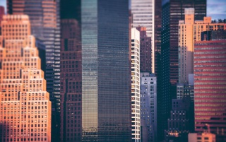 Manhattan Buildings wallpapers and stock photos