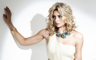 Alyson Michalka White Dress wallpapers and stock photos