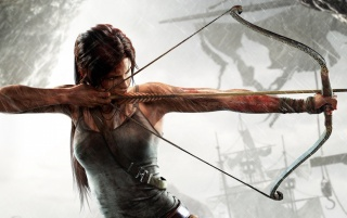 Lara Croft Tomb Raider 2013 wallpapers and stock photos