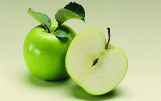Fresh Green Apple wallpapers and stock photos