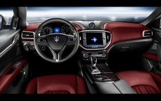2013 Maserati Ghibli Static-Dashboard wallpapers and stock photos