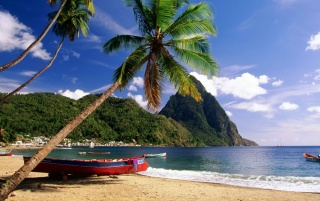 Caribbean Beach wallpapers and stock photos