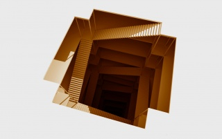 Abstract Stairways wallpapers and stock photos