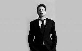 Robert Downey junior Negro Traje wallpapers and stock photos