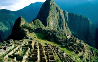 The Lost City of Incas wallpapers and stock photos