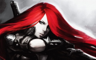 League of Legends Katarina wallpapers and stock photos