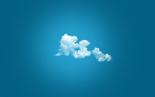 Clouds on Blue Background wallpapers and stock photos