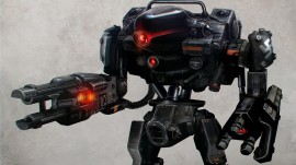 Wolfenstein: The New Order Robot wallpapers and stock photos
