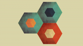 Colored Hexagons wallpapers and stock photos
