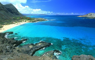 Makapu Oahu Hawaii wallpapers and stock photos