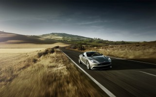 Random: Aston Martin Speeding
