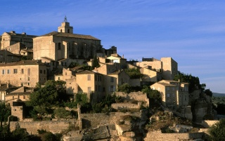 Village of Gordes wallpapers and stock photos
